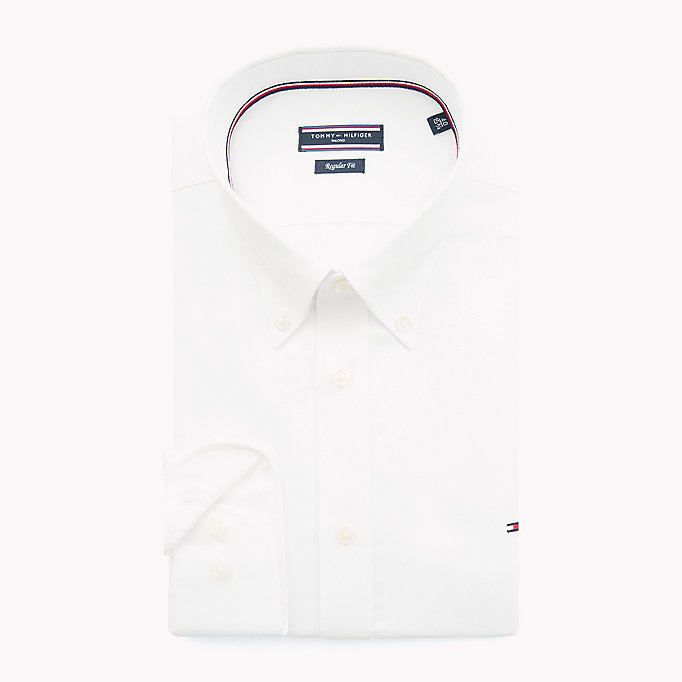 TOMMY HILFIGER Oxford Button Down Shirt - 410 - TOMMY HILFIGER Clothing - detail image 1