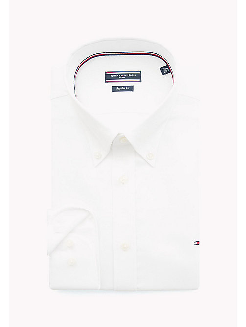 TOMMY HILFIGER Oxford Button Down Shirt - 100 - TOMMY HILFIGER Formal Shirts - detail image 1