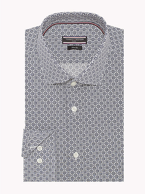 TOMMY HILFIGER Slim Fit Shirt mit Print - 427 - TOMMY HILFIGER Anzüge & Tailored - main image 1