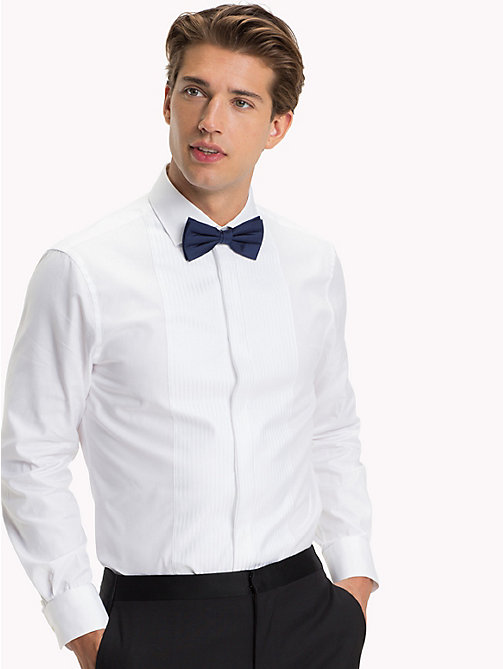TOMMY HILFIGER Slim Fit Tuxedo Shirt - 100 - TOMMY HILFIGER What to Wear - main image