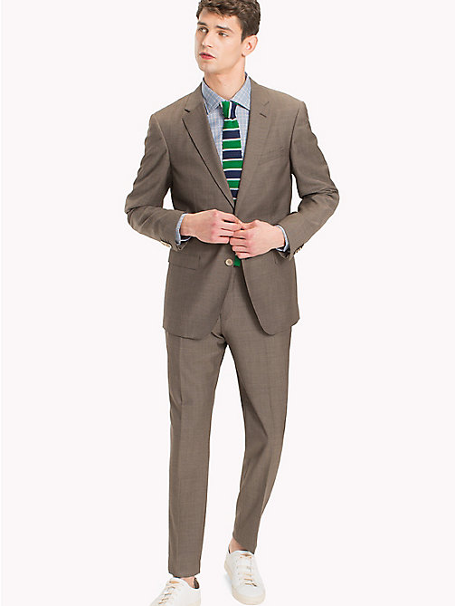 TOMMY HILFIGER Tailored Virgin Wool Slim Fit Suit - 225 - TOMMY HILFIGER Suits - main image