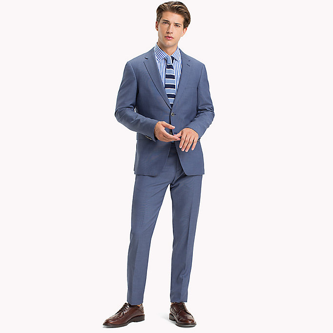 TOMMY HILFIGER Tailored Virgin Wool Slim Fit Suit - 225 - TOMMY HILFIGER Clothing - main image