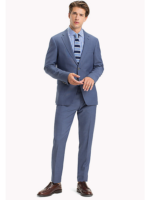 TOMMY HILFIGER Tailored Virgin Wool Slim Fit Suit - 425 - TOMMY HILFIGER Clothing - main image