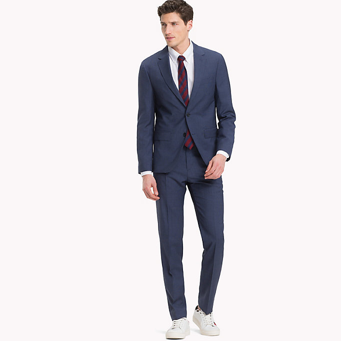 TOMMY HILFIGER Houndstooth Suit Separate Blazer - 025 - TOMMY HILFIGER Men - detail image 2