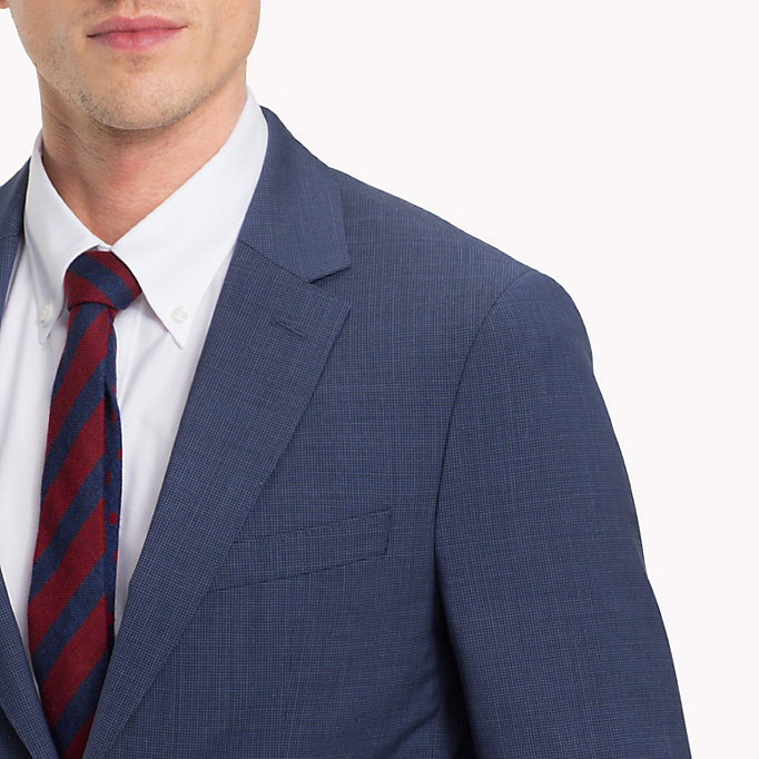TOMMY HILFIGER Houndstooth Suit Separate Blazer - 025 - TOMMY HILFIGER Men - detail image 3