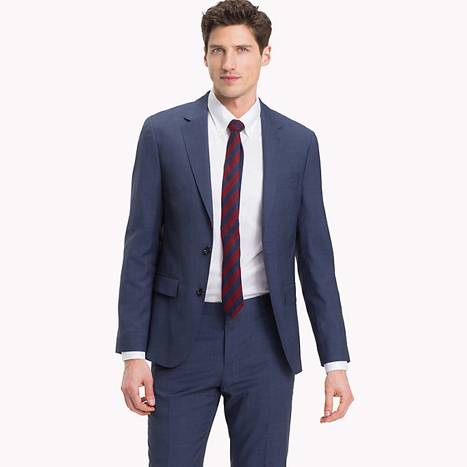 TOMMY HILFIGER Houndstooth Suit Separate Blazer - 025 - TOMMY HILFIGER Men - main image