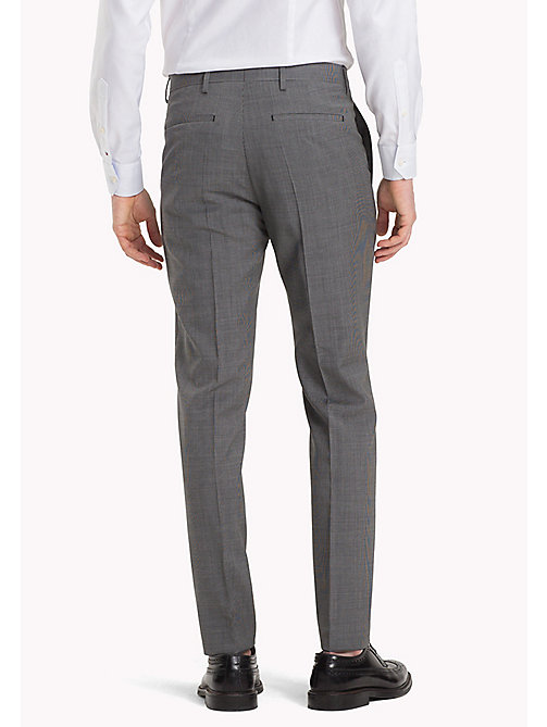 TOMMY HILFIGER Tailored Houndstooth Suit Separate Trousers - 025 - TOMMY HILFIGER Men - detail image 1