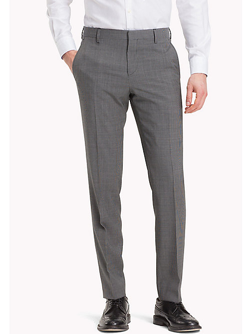 TOMMY HILFIGER Tailored Houndstooth Suit Separate Trousers - 025 - TOMMY HILFIGER Suit Separates - main image