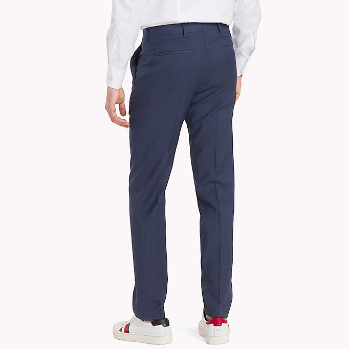 TOMMY HILFIGER Tailored Houndstooth Suit Separate Trousers - 025 - TOMMY HILFIGER Clothing - detail image 1