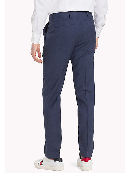 TOMMY HILFIGER Tailored Houndstooth Suit Separate Trousers - 425 - TOMMY HILFIGER Men - detail image 1