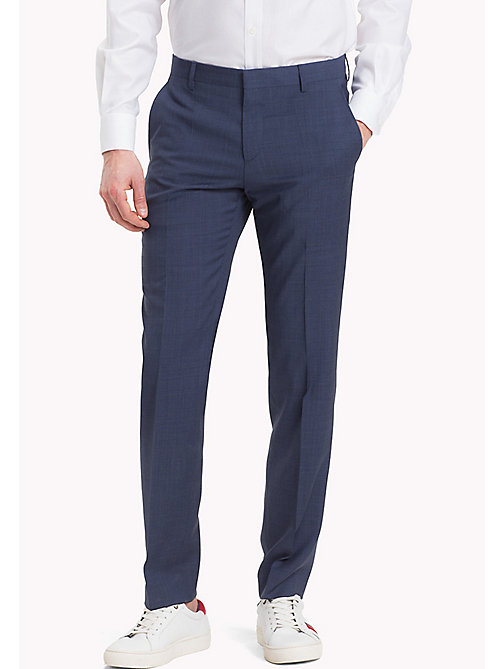 TOMMY HILFIGER Tailored Houndstooth Suit Separate Trousers - 425 - TOMMY HILFIGER Men - main image