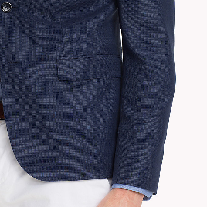 TOMMY HILFIGER Extra Slim Fit Suit Blazer - 025 - TOMMY HILFIGER Men - detail image 3