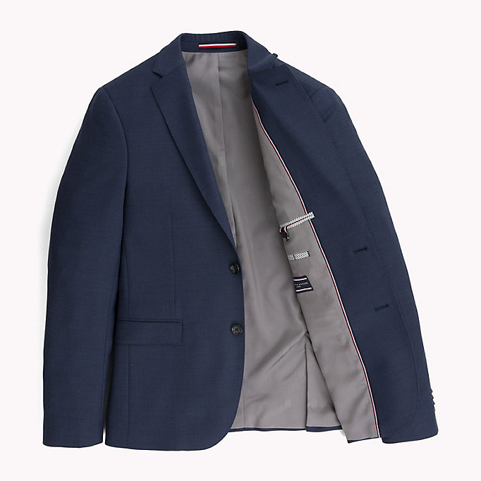 TOMMY HILFIGER Extra Slim Fit Suit Blazer - 025 - TOMMY HILFIGER Men - detail image 4