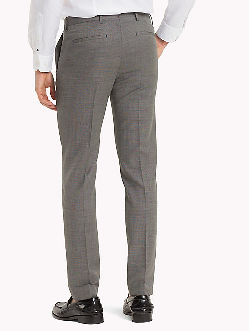 TOMMY HILFIGER Virgin Wool Extra Slim Fit Trousers - 025 - TOMMY HILFIGER Men - detail image 1