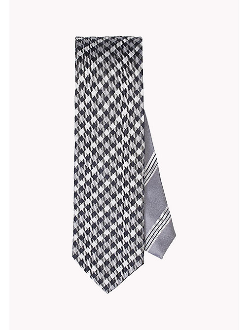 TOMMY HILFIGER Silk Check Tie - 020 020 - TOMMY HILFIGER Ties & Pocket Squares - main image