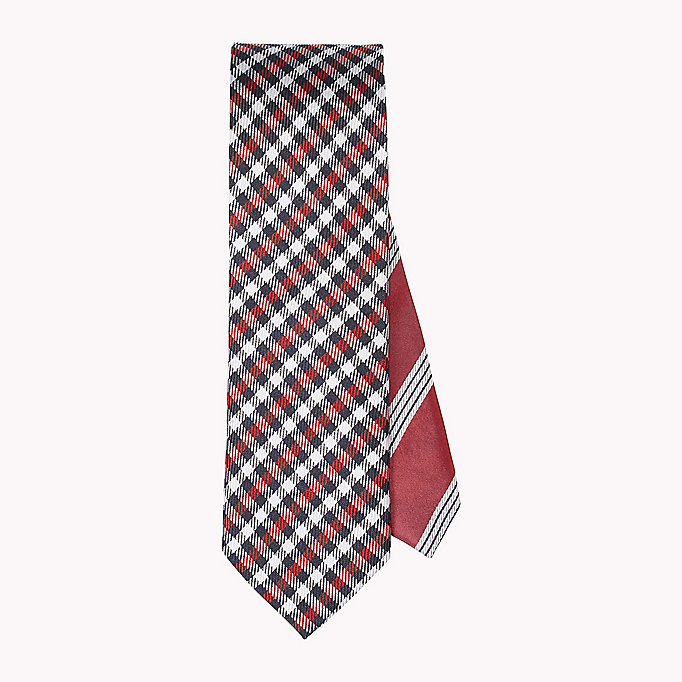 TOMMY HILFIGER Silk Check Tie - 020 020 - TOMMY HILFIGER Clothing - main image