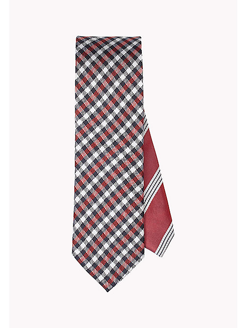 TOMMY HILFIGER Silk Check Tie - 615? 615 - TOMMY HILFIGER Ties & Pocket Squares - main image