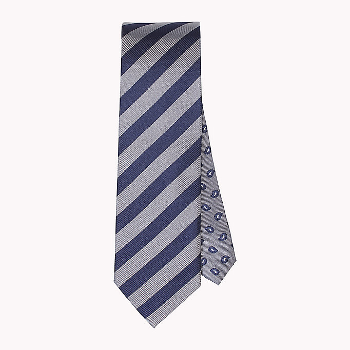 TOMMY HILFIGER Stripe Silk Tie - 428 - TOMMY HILFIGER Men - main image