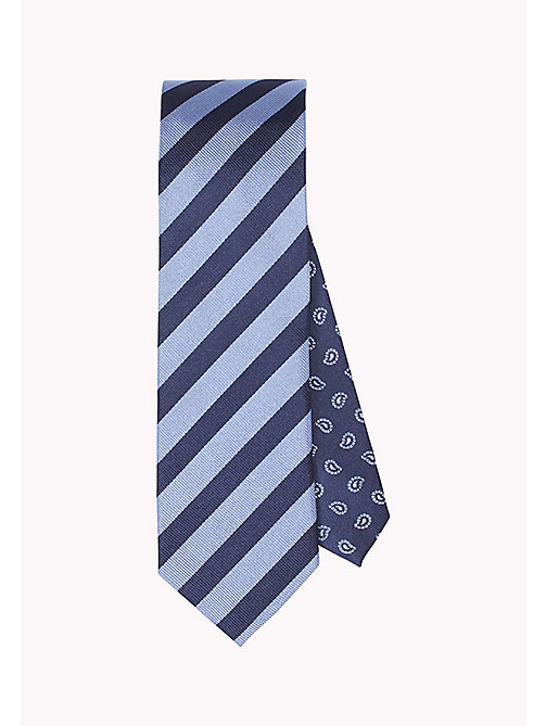 TOMMY HILFIGER Stripe Silk Tie - 428 - TOMMY HILFIGER What to Wear - main image