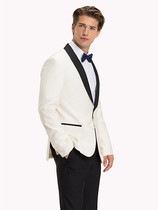 TOMMY HILFIGER Wool Tuxedo Blazer - 100 - TOMMY HILFIGER Suits & Tailored - main image