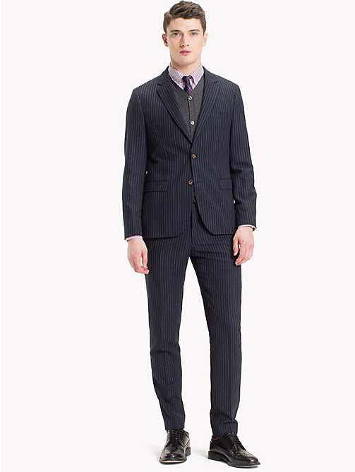 TOMMY HILFIGER Two Piece Pinstripe Suit - 427 - TOMMY HILFIGER Suits & Tailored - main image