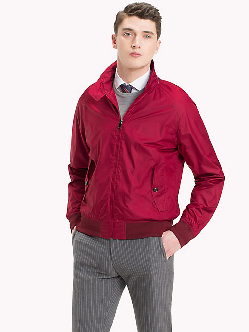 TOMMY HILFIGER Packable Harrington Jacket - 619 - TOMMY HILFIGER TOMMY'S PADDOCK - main image