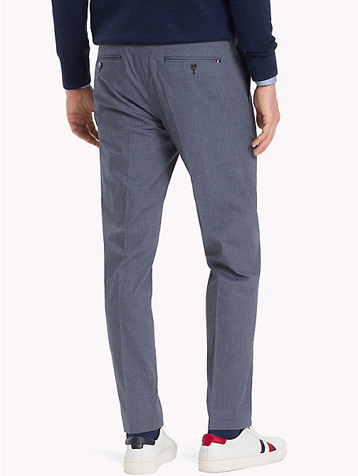 TOMMY HILFIGER Diamond Weave Trousers - 422 - TOMMY HILFIGER Formal Trousers - detail image 1