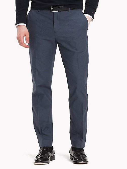 TOMMY HILFIGER Slim Fit Tapered Trousers - 422 - TOMMY HILFIGER Trousers & Shorts - main image