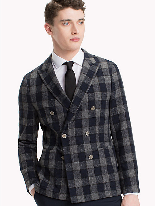 TOMMY HILFIGER Tailored Check Jacket - 427 - TOMMY HILFIGER Black Friday Men - main image