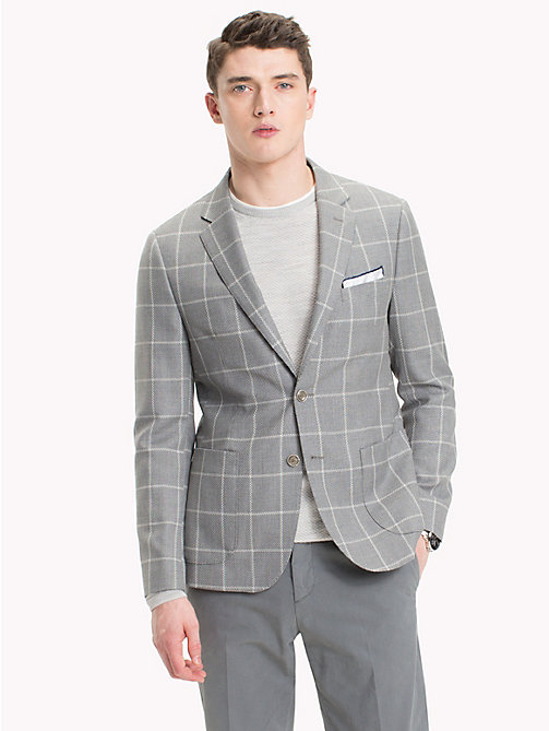 TOMMY HILFIGER Tailored Check Jacket - 427 - TOMMY HILFIGER Blazers - main image