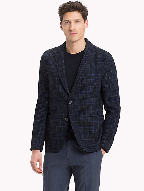 TOMMY HILFIGER Check Tailored Jacket - 427 - TOMMY HILFIGER Black Friday Men - main image