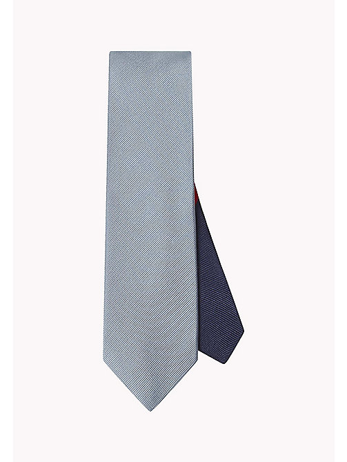 TOMMY HILFIGER Ribbed Silk Tie - 410 - TOMMY HILFIGER Ties & Pocket Squares - main image