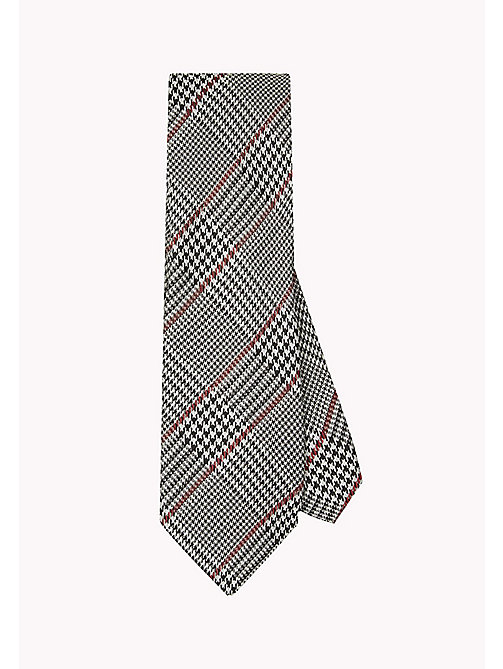 TOMMY HILFIGER Houndstooth Check Tie - 099 - TOMMY HILFIGER Bags & Accessories - main image