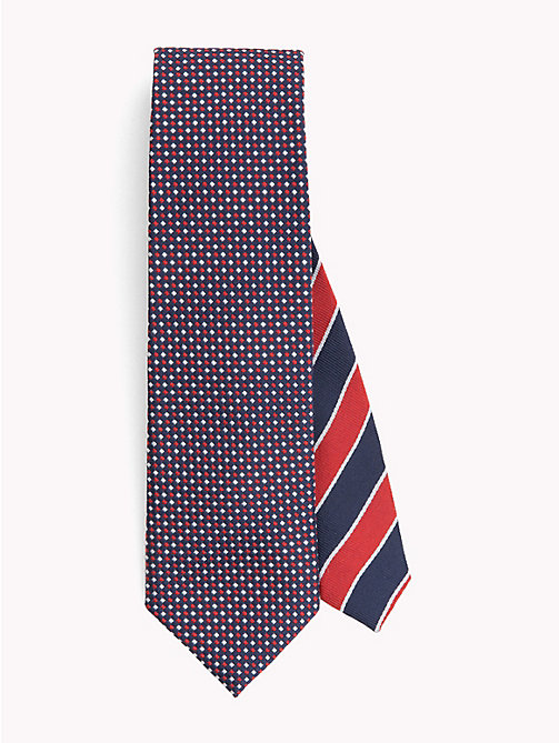 TOMMY HILFIGER Micro Pattern Tie - 610 - TOMMY HILFIGER Ties & Pocket Squares - main image