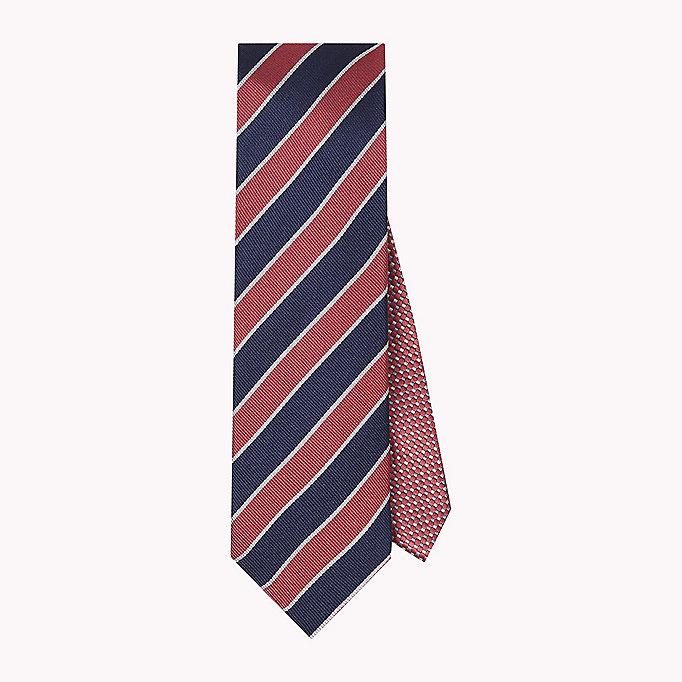 Pure Silk Stripe Tie - Sales Up to -50% Tommy Hilfiger ZugrYevuf