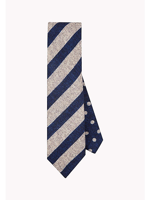 TOMMY HILFIGER Reversible Wool Tie - 002 - TOMMY HILFIGER Ties & Pocket Squares - main image
