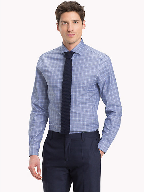 TOMMY HILFIGER Slim Fit Check Shirt - 425 - TOMMY HILFIGER Formal Shirts - detail image 1