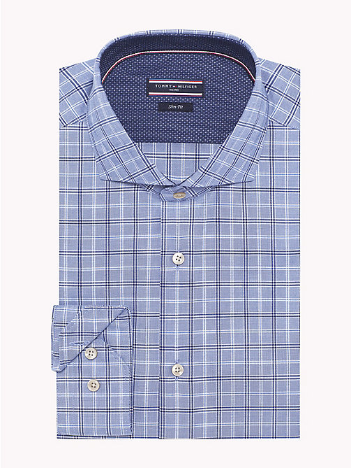 TOMMY HILFIGER Slim Fit Check Shirt - 425 - TOMMY HILFIGER Formal Shirts - main image