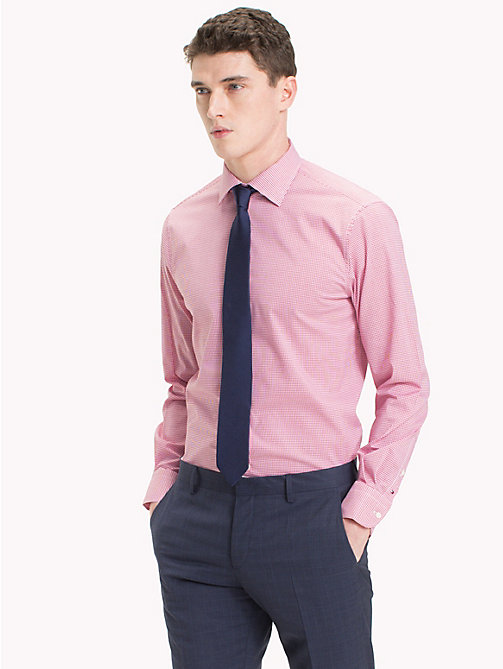 TOMMY HILFIGER Check Stretch Shirt - 616 - TOMMY HILFIGER Formal Shirts - detail image 1