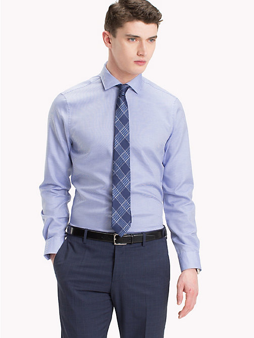 TOMMY HILFIGER Slim Fit Cotton Shirt - 425 - TOMMY HILFIGER Formal Shirts - detail image 1