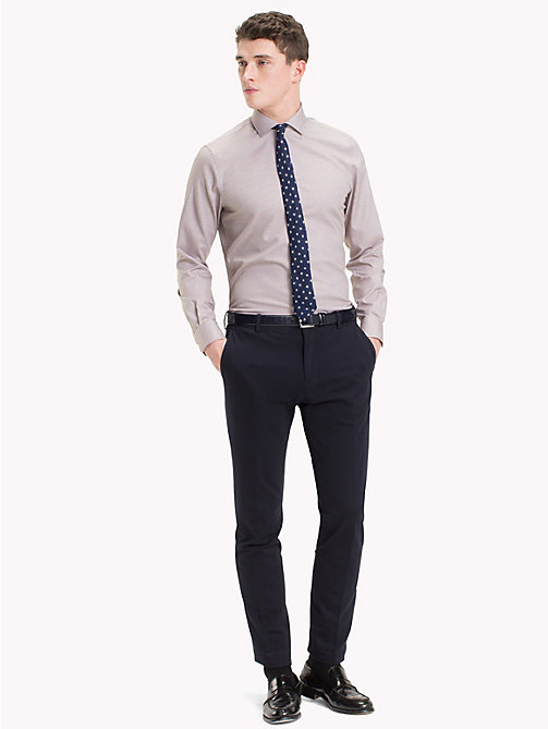 TOMMY HILFIGER Slim Fit Hemd aus Easy-Care-Baumwolle - 216 - TOMMY HILFIGER Businesshemden - main image 1