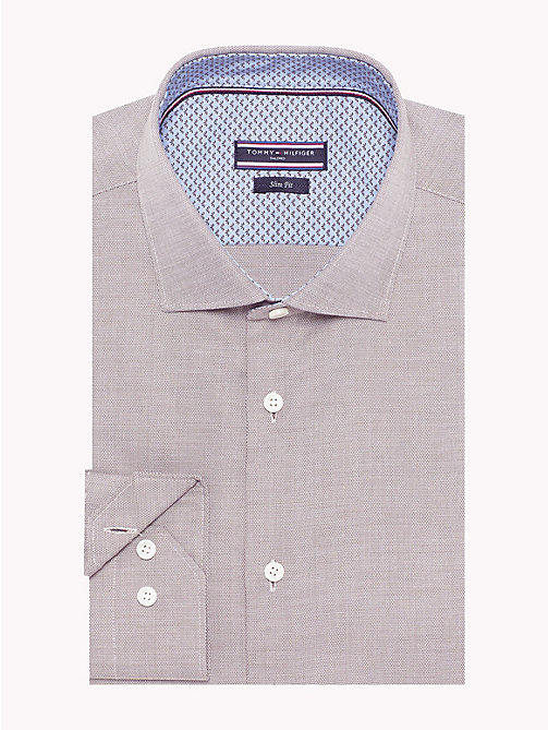 TOMMY HILFIGER Easy Care Cotton Slim Fit Shirt - 216 - TOMMY HILFIGER Formal Shirts - main image