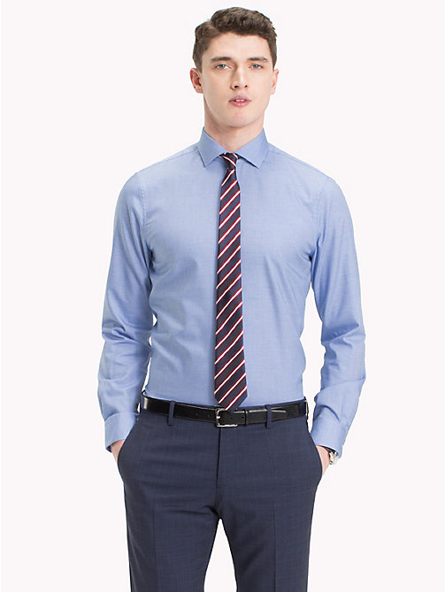 TOMMY HILFIGER Slim Fit Hemd aus Easy-Care-Baumwolle - 416 - TOMMY HILFIGER Businesshemden - main image 1