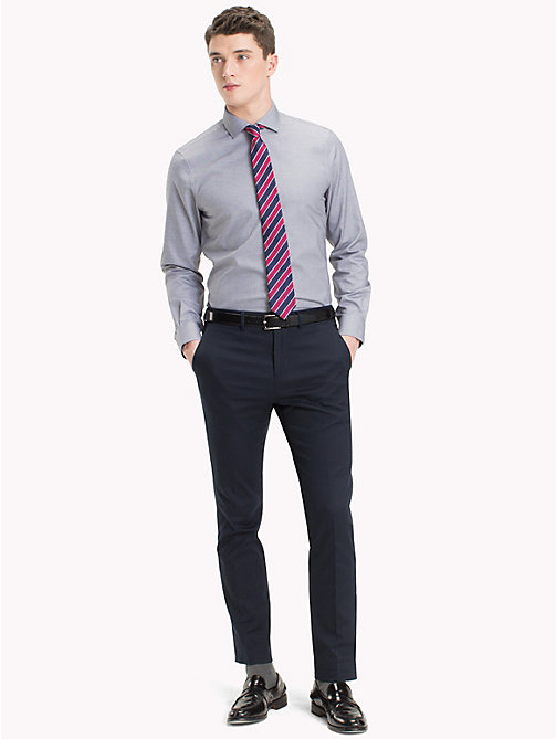 TOMMY HILFIGER Slim Fit Hemd aus Easy-Care-Baumwolle - 428 - TOMMY HILFIGER Businesshemden - main image 1