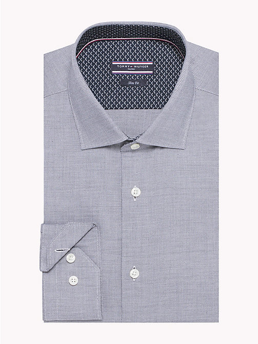 TOMMY HILFIGER Easy Care Cotton Slim Fit Shirt - 428 - TOMMY HILFIGER Formal Shirts - main image