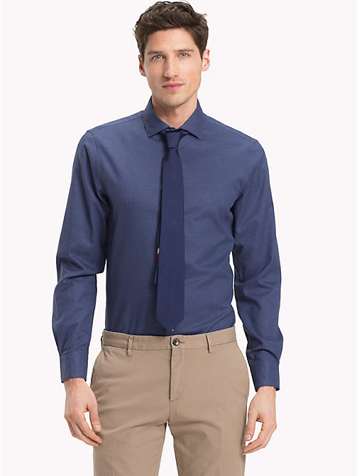 TOMMY HILFIGER Easy Iron Slim Fit Shirt - 428 - TOMMY HILFIGER Formal Shirts - detail image 1