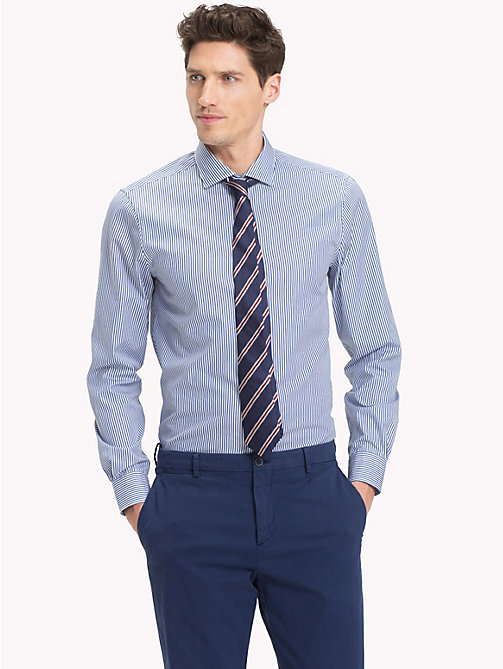 TOMMY HILFIGER Stripe Slim Fit Shirt - 410 - TOMMY HILFIGER Formal Shirts - detail image 1