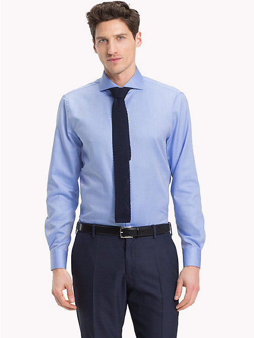 TOMMY HILFIGER Spread Collar Shirt - 410 - TOMMY HILFIGER Formal Shirts - detail image 1