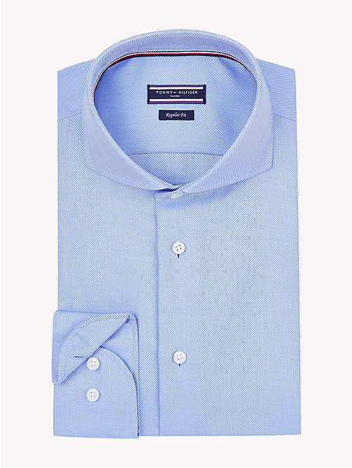 TOMMY HILFIGER Spread Collar Shirt - 410 - TOMMY HILFIGER Formal Shirts - main image