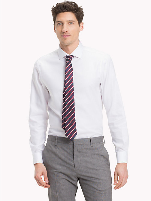 TOMMY HILFIGER Easy Iron Slim Fit Shirt - 100 - TOMMY HILFIGER Formal Shirts - detail image 1